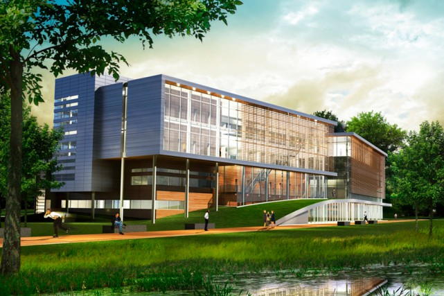 L'Éco-campus sera construit dans le parc-nature des Sources.... (PHOTO FOURNIE PAR TECHNOPARC MONTRÉAL)