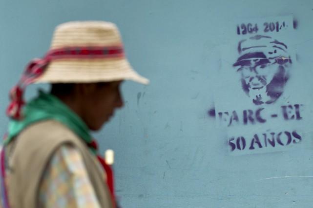 Cette libération constitue un premier geste des FARC,... (PHOTO LUIS ROBAYO, ARCHIVES AFP)
