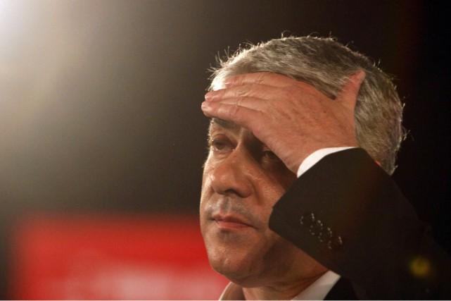 Figure emblématique du Parti socialiste portugais, José Socrates,... (PHOTO HUGO CORREIA, ARCHIVES REUTERS)