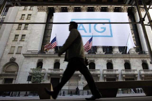 Une première phase du procès AIG s'est achevée... (Photo Archives Reuters)