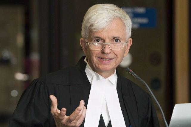 Luc Leclair, avocat de Magnotta... (La Presse Canadienne)