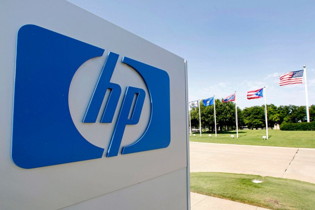 Le groupe informatique américain Hewlett-Packard(HPQ)a... (PHOTO ARCHIVES BLOOMBERG)