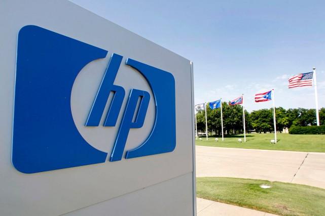 Le groupe informatique américain Hewlett Packard, déjà en restructuration... (PHOTO ARCHIVES BLOOMBERG)