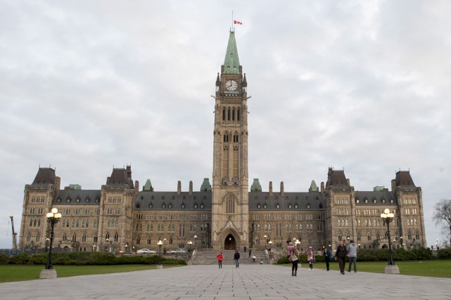 Le chef du Parti libéral du Canada, Justin... (Photo Justin Tang, La Presse Canadienne)