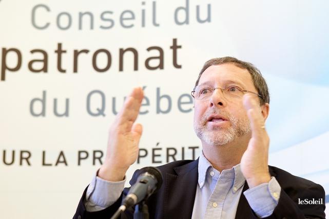 Le pdg du Conseil du patronat du Québec,... (Photothèque Le Soleil)