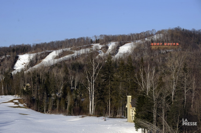 La station de ski Gray Rocks, première station... (Photo: Bernard Brault, archives La Presse)