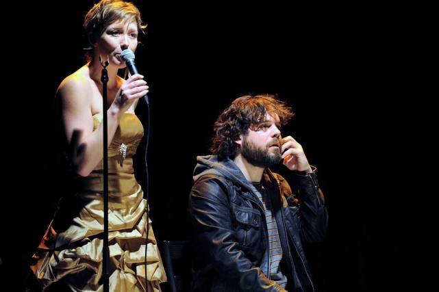 L'originalité de Midsummer, avec Isabelle Blais et Pierre-Luc... (Photo fournie par la production)
