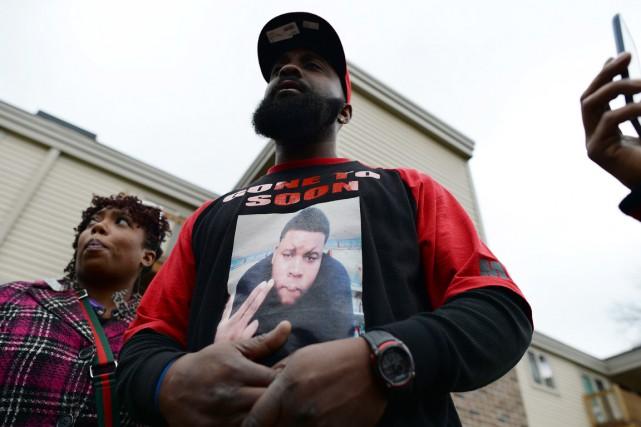 Le père de Michael Brown, Michael Brown Sr.,... (PHOTO JEWEL SAMAD, ARCHIVES AFP)