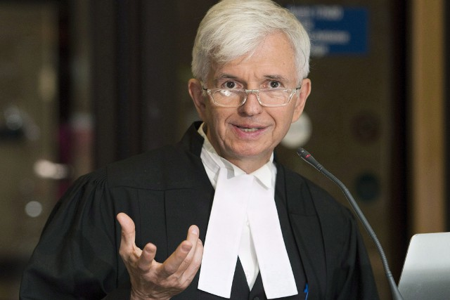 Me Luc Leclair, avocat de Luka Rocco Magnotta.... (PHOTO ARCHIVES LA PRESSE CANADIENNE)