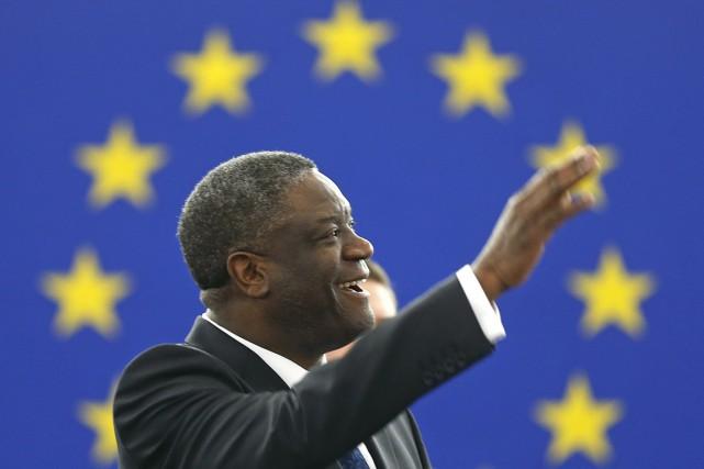 Surnommé «Docteur miracle», Denis Mukwege apporte depuis une... (PHOTO VINCENT KESSLER, REUTERS)