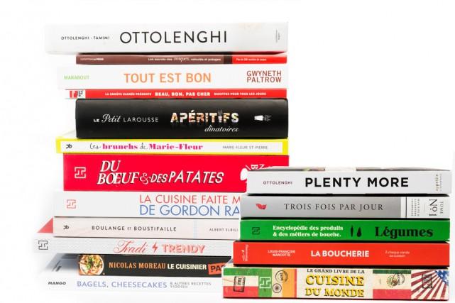 Un beau livre de cuisine est à la fois un outil, un objet de décoration... et... (PHOTOS ULYSSE LEMERISE ET CHARLES LABERGE, COLLABORATION SPÉCIALE)