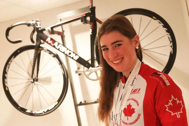Marie-Alexandre Lemire s'aligne au sein du Ottawa Bicycle... (Étienne Ranger, LeDroit)
