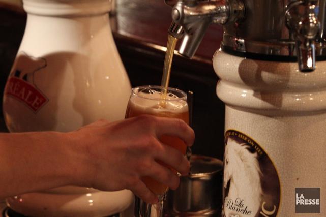 Les étudiants du secondaire au Québec consomment moins d'alcool et moins de... (Archives La Presse)