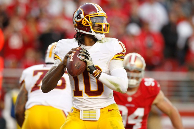 Robert Griffin III... (Photo Cary Edmondson, archives USA Today)