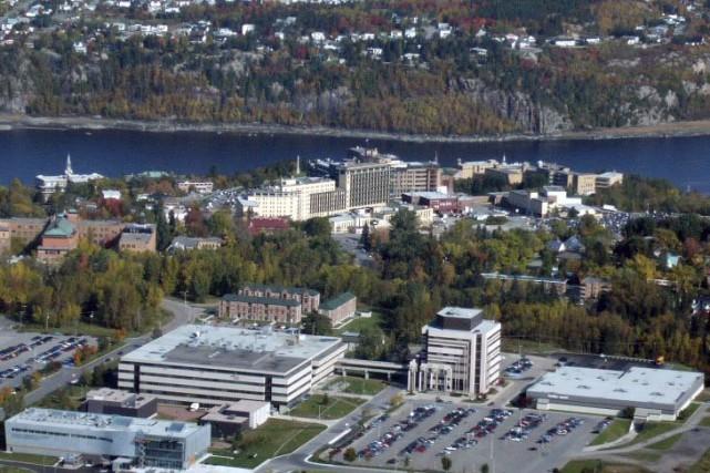 L'Université de Québec à Chicoutimi.... (Photo fournie par l'UQAC)