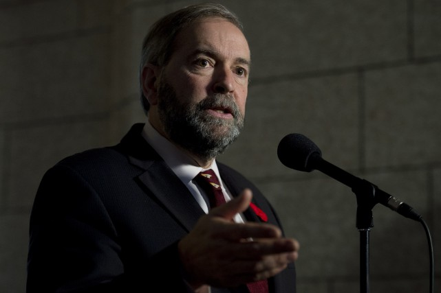 Thomas Mulcair... (PHOTO ADRIAN WYLD, ARCHIVES LA PRESSE CANADIENNE)