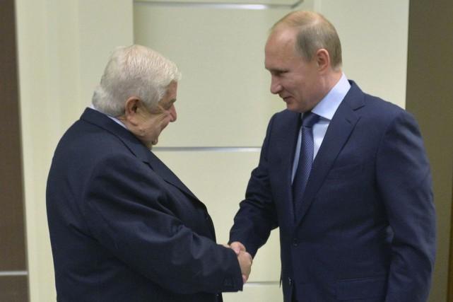 Le président russe Vladimir Poutine s'est entretenu mercredi... (Photo Alexei Druzhinin/RIA Novosti/Kremlin, REUTERS)