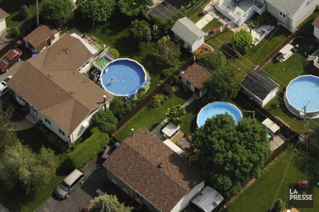 La propriété d'un logement au Canada était légèrement plus abordable au... (PHOTO BERNARD BRAULT, ARCHIVES LA PRESSE)