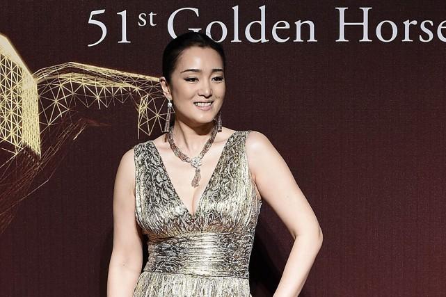 Gong Li au Festival du film Golden Horse.... (Photo: Reuters)