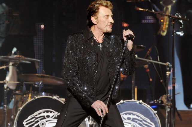 Johnny Halliday... (Photo: archives AFP)