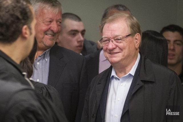 L'ex-maire de Laval,Gilles Vaillancourt, en avril dernier.... (PHOTO OLIVIER PONTBRIAND, ARCHIVES LA PRESSE)