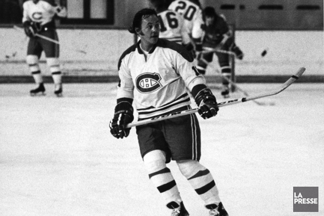 Yvan Cournoyer dans l'uniforme du Canadien en 1973.... (Archives La Presse)
