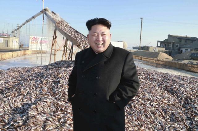 Kim Jong-Un lors d'une visite dans unestation de... (Photo: Reuters)