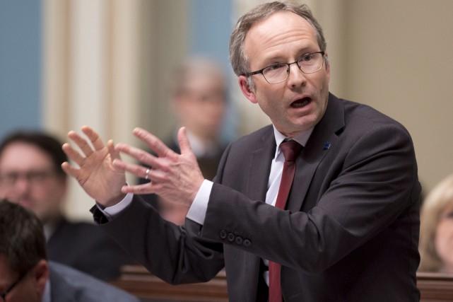 Mardi, le président du Conseil du trésor, Martin... (La Presse Canadienne, Jacques Boissinot)