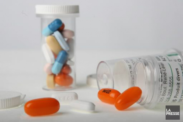 L'organisme Partenariat pour un Canada sans drogue tient jusqu'en décembre sa... (Photothèque La Presse)