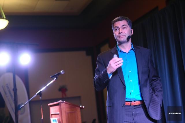 « Je suis un éternel optimiste, mais dans la société québécoise, je fais quand... (Imacom, Julien Chamberland)