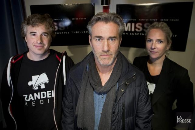 Roy Dupuis apparaîtra dans le jeu mobile Missing,... (Photo: Ivanoh Demers, La Presse)