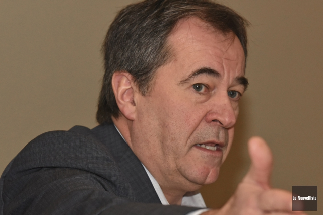 Le secrétaire général de la FTQ, Serge Cadieux,... (Photothèque Le Nouvelliste)