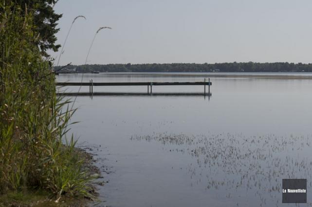 L'eutrophisation du lac à la Tortue atteint un... (Photo: Stéphane Lessard, Le Nouvelliste)