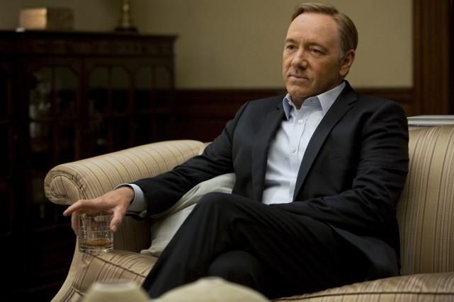 Dans la série House of Cards, la voix... (Photo fournie par Netflix)