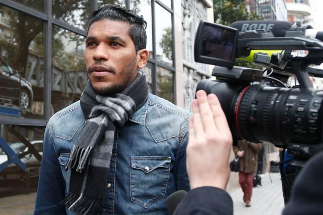 Le joueurBrandao, du club français de Bastia.... (Photo Charles Platiau, Reuters)