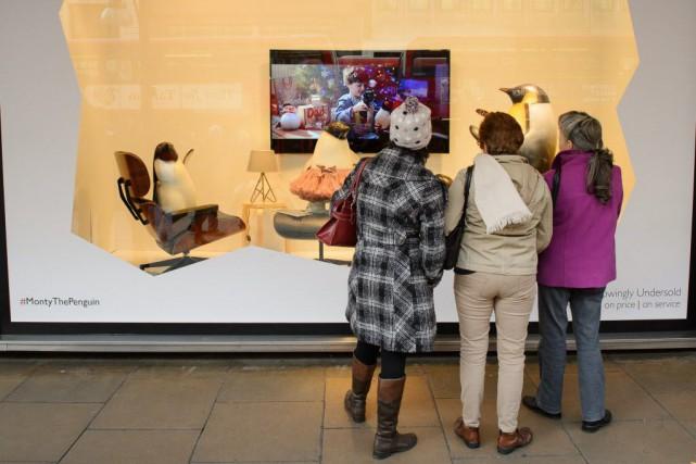 Cette année, cette chaîne de grands magasins a... (PHOTO LEON NEAL, AFP)