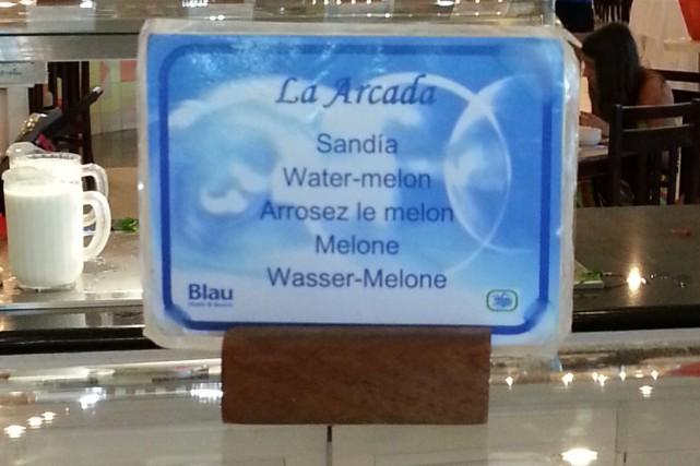 Les melons d'eau sont déjà suffisamment gorgés d'eau comme ça... Inutile de les... (Photo fournie)