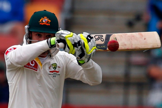 Le joueur de cricket australien Phillip Hughes est... (Photo David Gray, archives Reuters)