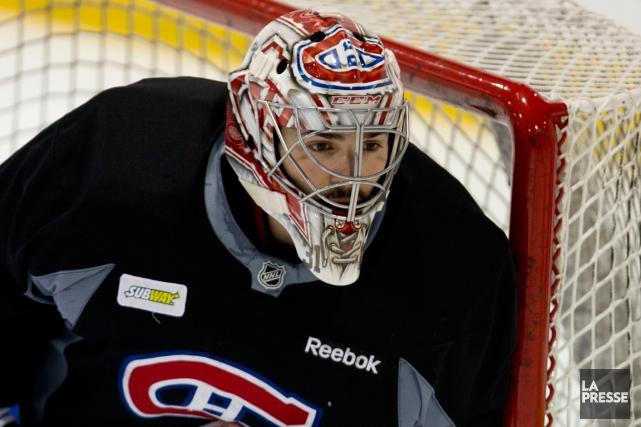 Carey Price sera devant le filet du Canadien... (Photo Olivier Jean, La Presse)