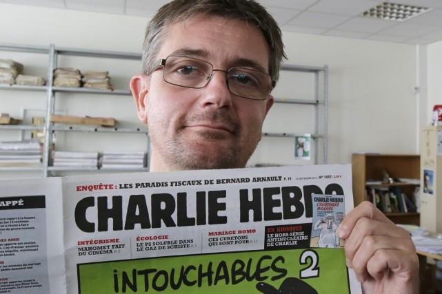 Charb, directeur de la publication Charlie Hebdo.... (Photo: archives AP)