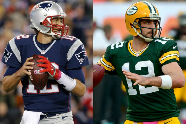 Les quarts Tom Brady, des Patriots de la... (Photos USA Today)