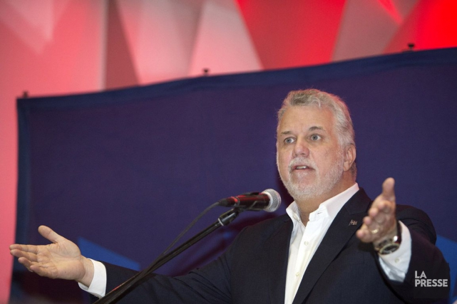 Philippe Couillard... (PHOTO ROBERT SKINNER, ARCHIVES LA PRESSE)
