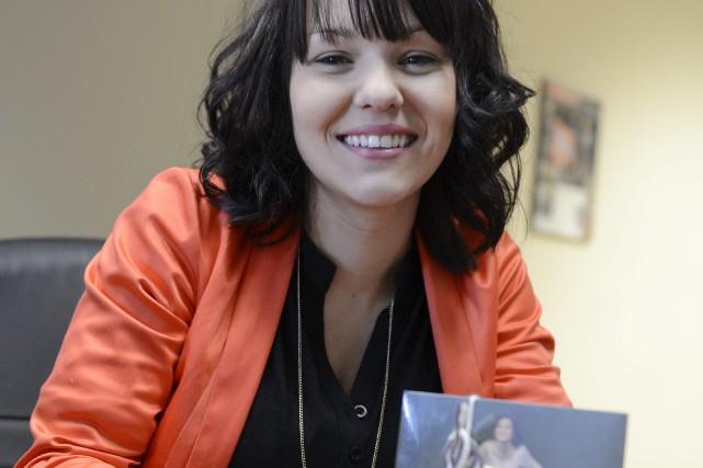 Émilie Lévesque est venue présenter son deuxième album,... ((Photo Jeannot Lévesque))