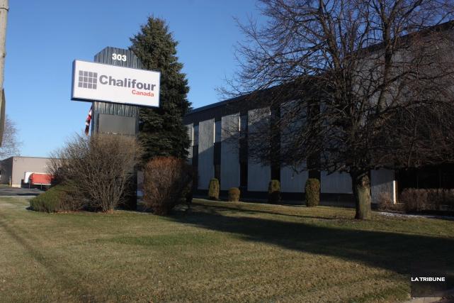 Chalifour Canada a annoncé le déménagement de ses... (La Tribune, Yanick Poisson)