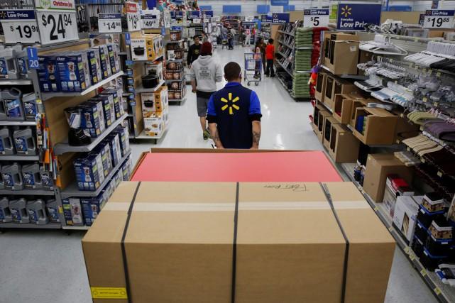 C'est le jour de l'année à partir duquel les commerçants américains aspirent... (PHOTO PATRICK T. FALLON, BLOOMBERG)