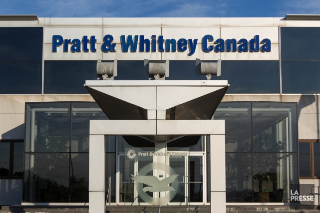 Pratt&Whitney Canada compte autour de 5000 employés au... (PHOTO EDOUARD PLANTE-FRÉCHETTE, ARCHIVES LA PRESSE)
