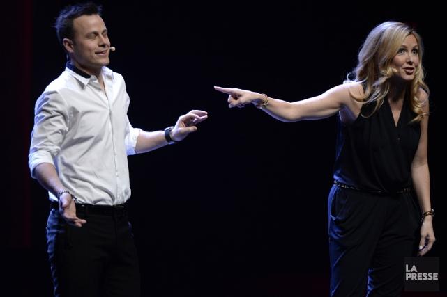 Le terme «power couple» n'a jamais été plus vrai, en ce qui concerne... (Photo: Bernard Brault, La Presse)