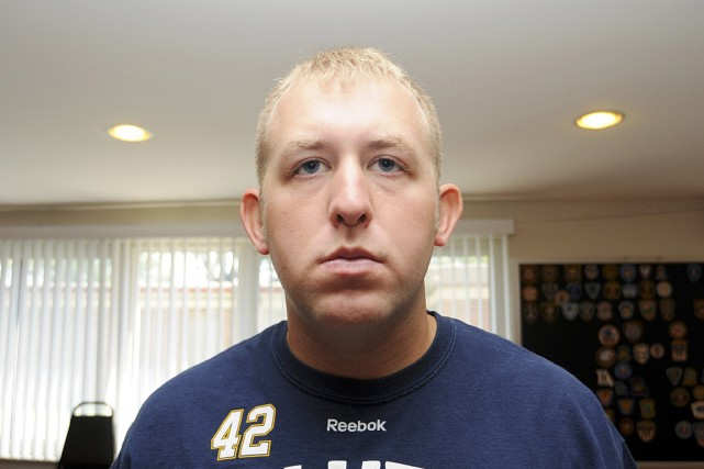 Darren Wilson est en discussion avec la police... (PHOTO ARCHIVES REUTERS)