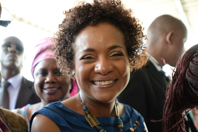 Michaelle Jean... (PHOTO SEAN KILPATRICK, LA PRESSE CANADIENNE)