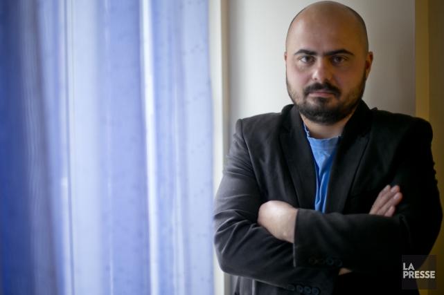 Vladimir Lortchenkov a déjà publié 14 romans en... (Photo: David Boily, La Presse)